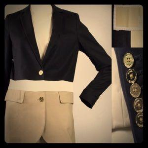 Michael Kors Blazer Navy Size 4